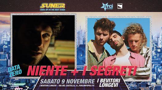 I Segreti + Niente - Live al I Bevitori Longevi @ Suner