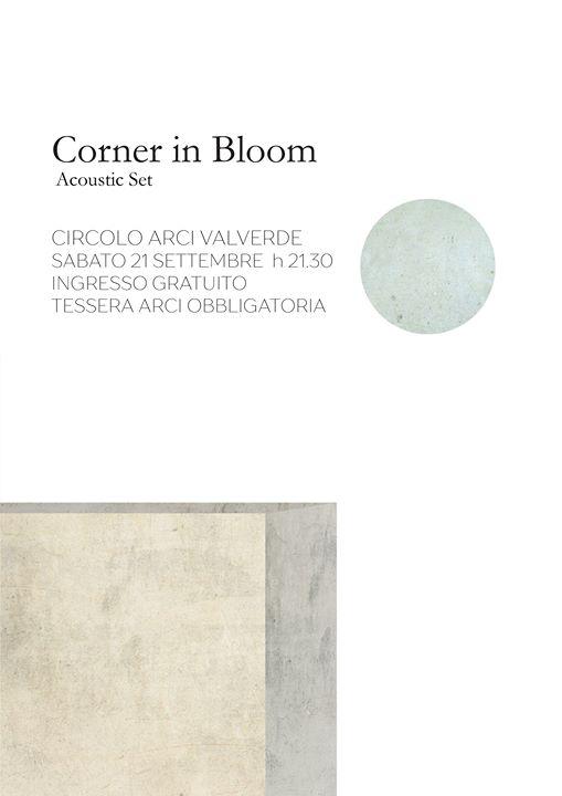 Concerto - Corner in Bloom @ Valverde Circolo Arci