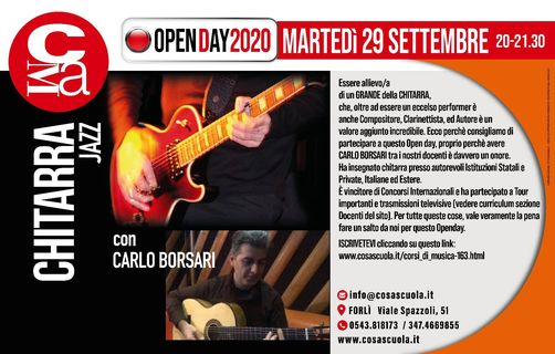 Open day Corso di Chitarra @ Cosascuola Music Academy
