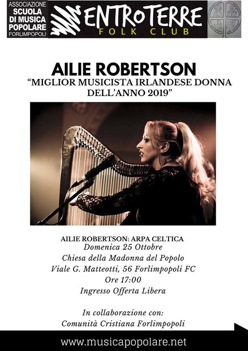25 Ott 2020 Ailie Robertson in concerto a Forlimpopoli @  -
