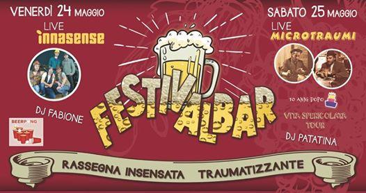 Festivalbar Innasense & Microtraumi live Bevitori Longevi @ Bevitori Longevi