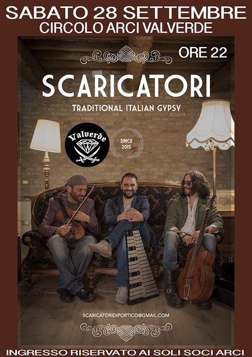 LIVE! - Scaricatori @ Valverde Circolo Arci