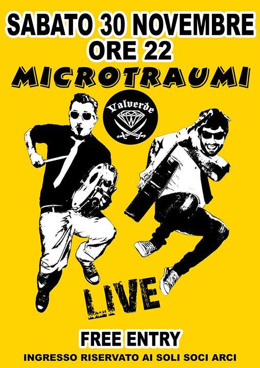 Microtraumi @ Valverde Circolo Arci