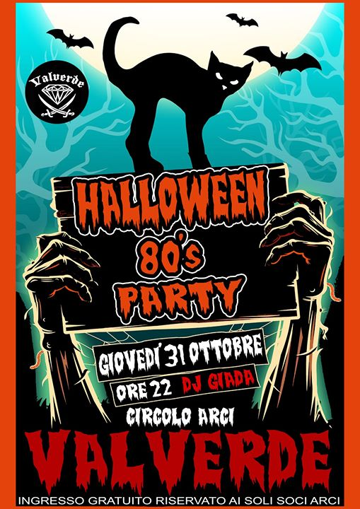 Halloween 80's Party @ Valverde Circolo Arci