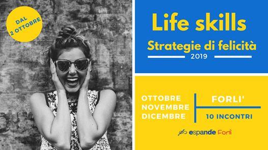 Life Skills - Strategie di felicità @ Cerchio di Armonia