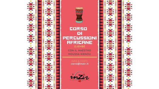 *ANNULLATO* Corso di percussioni africane @ INZIR - Viaggiatori in circolo