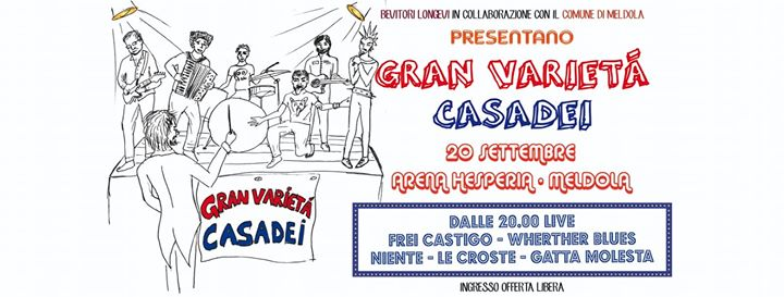 Gran Varietà Casadei live Arena Hesperia @ Meldola