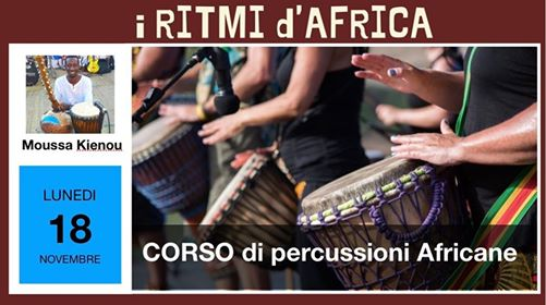Corso di Percussioni Africane @ INZIR - Viaggiatori in circolo