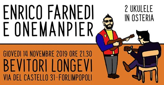 Enrico Farnedi & OneManPier | live @Bevitori Longevi @ Bevitori Longevi