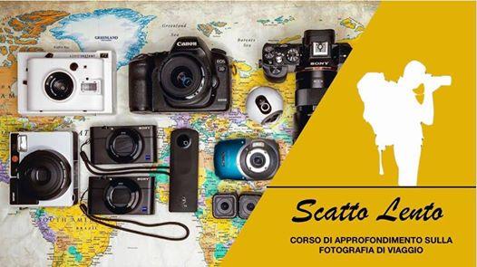 Scatto Lento - corso di fotografia di viaggio @ INZIR