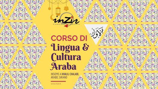 *ANNULLATO* Corso di Lingua e Cultura Araba @ INZIR - Viaggiatori in circolo