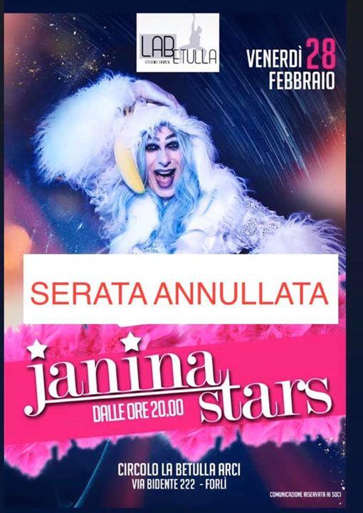 Janina STARS @ Circolo La Betulla arci